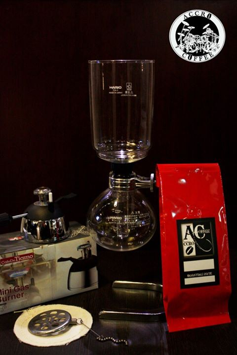 christmas siphon coffee set