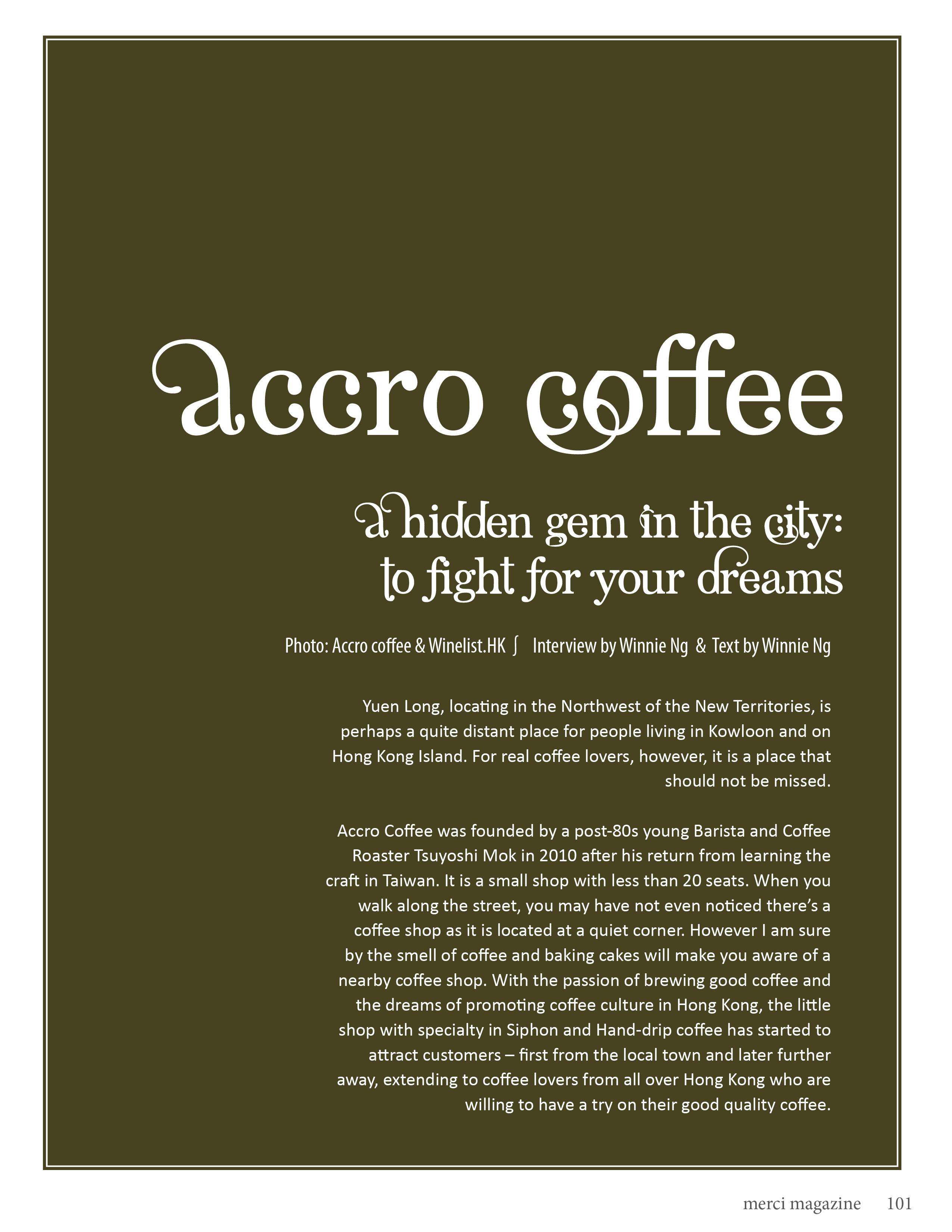 merci - Accro Coffee 20142